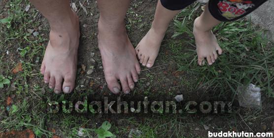 kaki-budakhutan